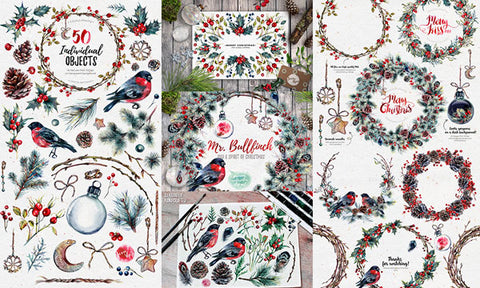 The Last Minute, Mr. Bullfinch Christmas Bundle - Only $9 - MyDesignDeals