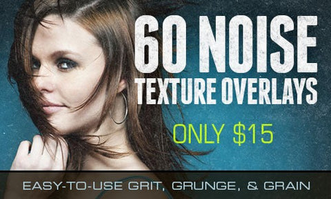 60 Easy-to-Use Noise Texture Overlays - Only $15 - MyDesignDeals