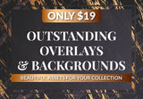 Outstanding Overlays And Backgrounds - Just $19 - MyDesignDeals