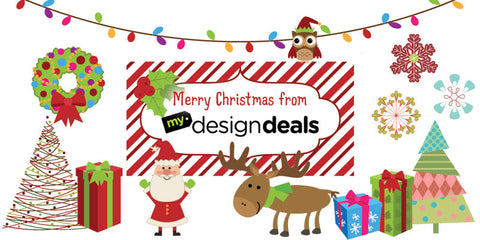 Pink Pueblo's Perfect 182 Vector Christmas Pack - Only $9.99 - MyDesignDeals