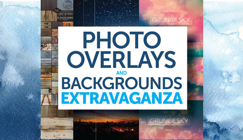 Stunning Photo Overlays And Backgrounds - Only $39 - MyDesignDeals