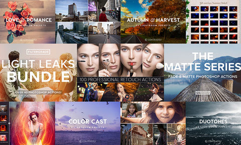 The Photography Favorites Mega Bundle (Presets, Actions, Overlays, & More) - MyDesignDeals