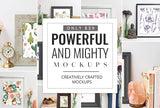 Powerful And Mighty Mockups, Creatively Crafted - Just $39 - MyDesignDeals