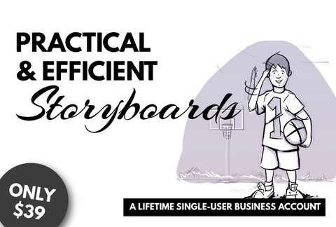 Practical & Efficient Storyboards - Lifetime Software License - Only $39 - MyDesignDeals