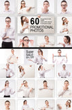 60 Studio Professional Promotional Photos (Female) - MyDesignDeals