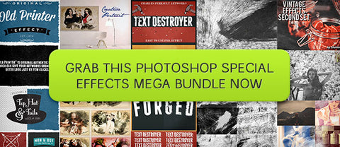 Photoshop Special Effects Mega Bundle - Only $28 - MyDesignDeals