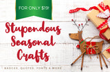 Stupendous Seasonal Crafts - Just $19! - MyDesignDeals