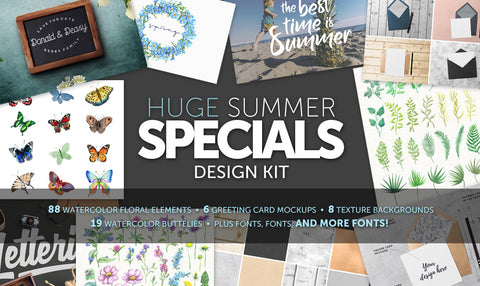 Summer Specials Design Kit & Extras! - MyDesignDeals
