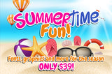 Summertime Fun! Fonts, Graphics And More - Only $39! - MyDesignDeals