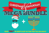 The Christmas And Hanukkah Mega Bundle Of 2017 - Only $39 - MyDesignDeals