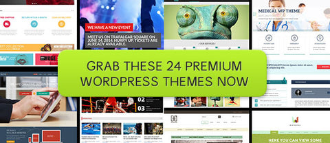 The Complete WordPress Themes Collection - Only $27 - MyDesignDeals