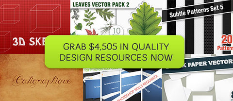 The Ginormous Bundle ($4,505 in Design Resources) - Only $59 - MyDesignDeals