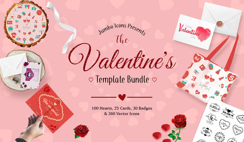 The Valentine's Template Megabundle - Just $39 - MyDesignDeals