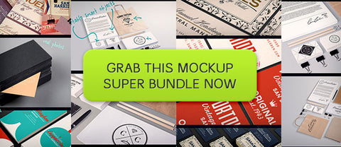 The Photoshop Mockups Super Bundle - Only $44 - MyDesignDeals