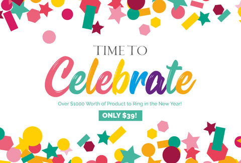 Time To Celebrate - New Years Bundle - Only $39! - MyDesignDeals