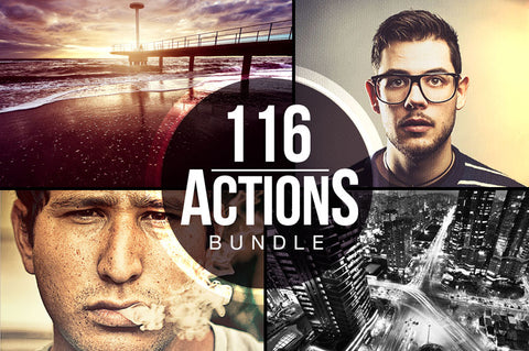 116 Photoshop Actions to Instantly Enhance Any Photo (Plus Bonus) - Only $15 - MyDesignDeals
