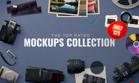 The Top Rated Mockups Collection - Only $29 - MyDesignDeals