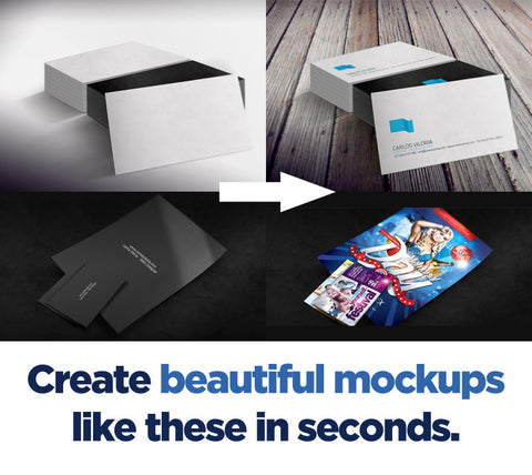 Display Your Work in Style with The Ultimate Design Mockup Kit - Only $9 - MyDesignDeals
