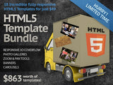 The Ultimate HTML5 Template Bundle - Only $49 - MyDesignDeals