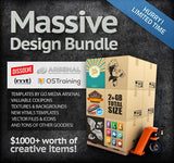 Massive Ultrashock Design Bundle (Worth $1275) - Only $49 - MyDesignDeals