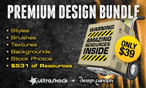 Second Chance: Ultrashock & Design Panoply Premium Design Bundle - Only $39 - MyDesignDeals