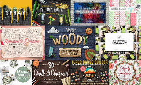 The Unbeatable February Creative Collection - Only $39 - MyDesignDeals