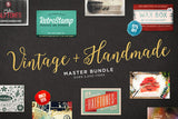 The Vintage & Handmade Master Bundle - Only $29 - MyDesignDeals
