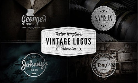 The Ultimate Pack of Vintage Logos and Badges (Plus Tons of Extras) - Only $39 - MyDesignDeals