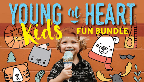 The Young At Heart Kid's Fun Bundle - Only $39 - MyDesignDeals