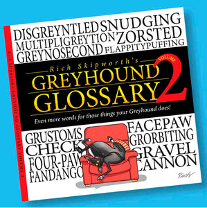 Greyhound glossary bok, volume 2 (4309496889457)