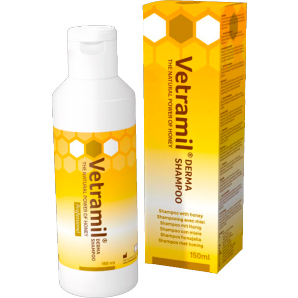 VETRAMIL Derma shampoo with honey