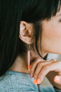 Muppie Lounge Leather String Earrings