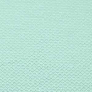 QUILTED JERSEY FABRIC WITH LUREX - MINT