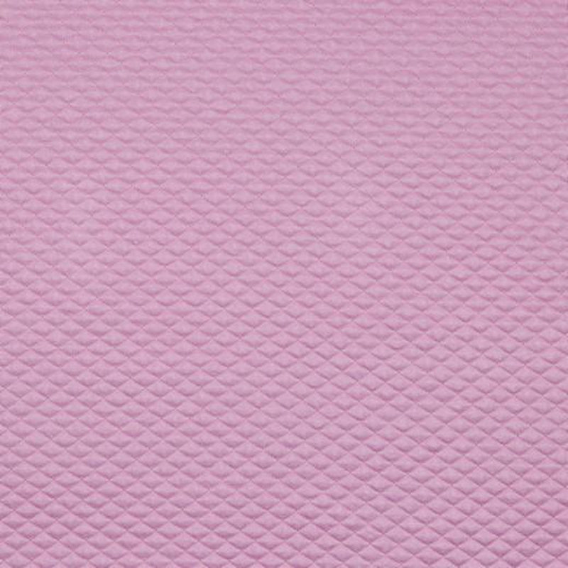 QUILTED JERSEY FABRIC WITH LUREX - MAUVE