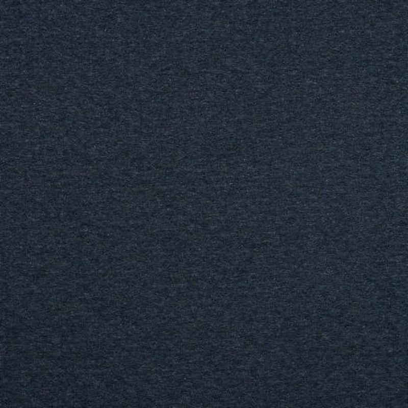 QUILTED JERSEY FABRIC - MELANGE NAVY