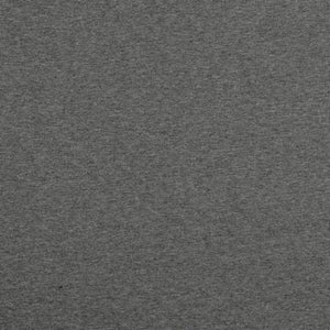 QUILTED JERSEY FABRIC - MELANGE GREY