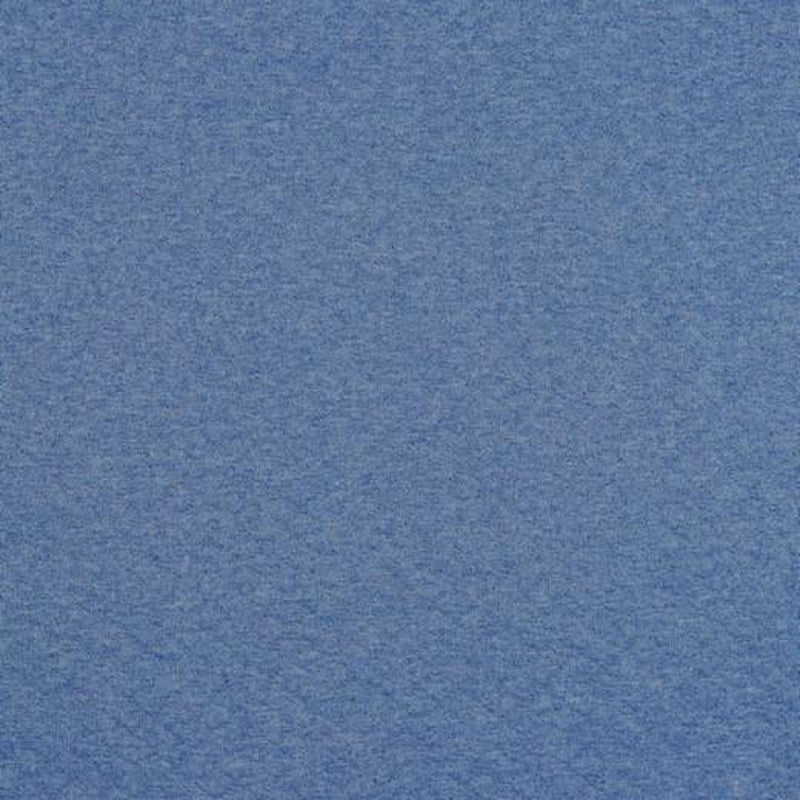 QUILTED JERSEY FABRIC - MELANGE BLUE