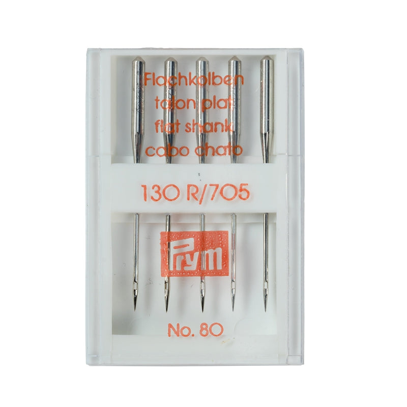 STANDARD SEWING MACHINE NEEDLES - 130/705, 80 - Lilly and Mimi Fabric Shop