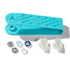 PRESALE! PRYM SNAP FASTENERS METAL 8MM - BLUE/WHITE