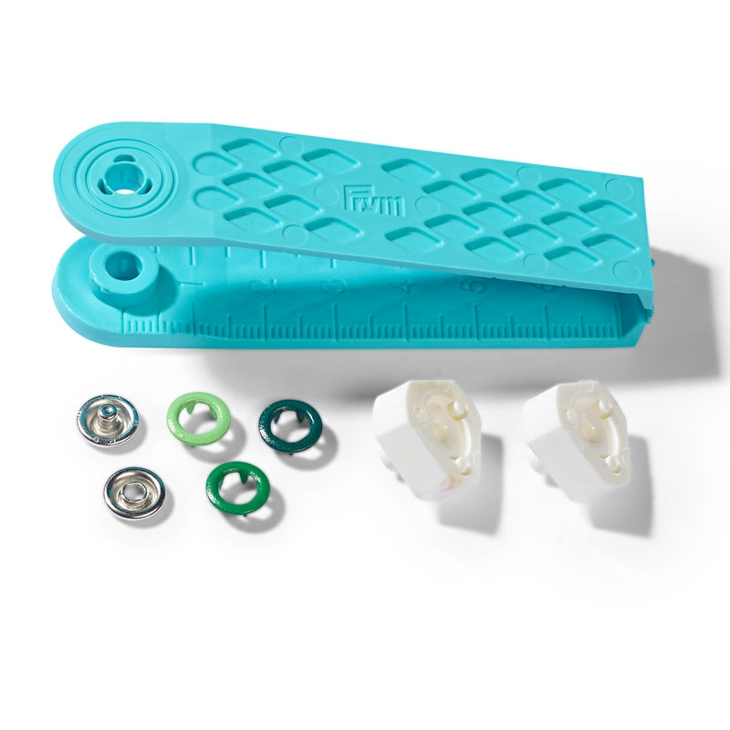 PRESALE! PRYM SNAP FASTENERS METAL 8MM - GREEN
