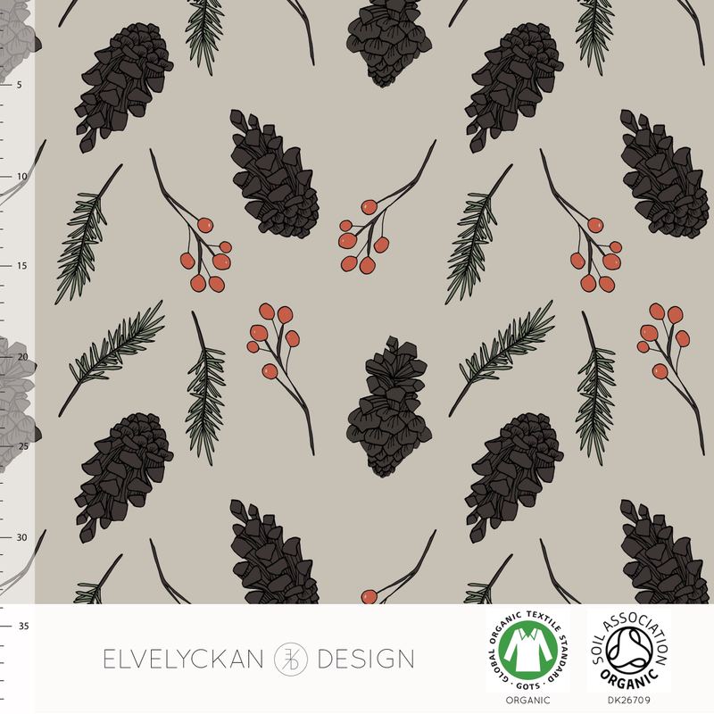 FOREST - DESERT BY ELVELYCKAN DESIGN - Lilly and Mimi Fabric Shop