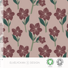 AMARYLLIS - ROSE BY ELVELYCKAN DESIGN - Lilly and Mimi Fabric Shop