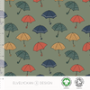 UMBRELLA - GREEN ORGANIC COTTON JERSEYBY ELVELYCKAN DESIGN