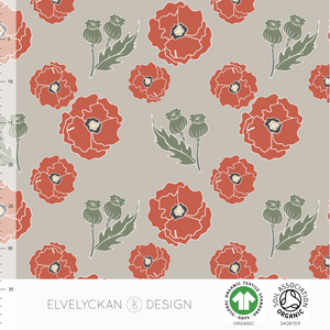 POPPY COLLEGE - DESERT BY ELVELYCKAN DESIGN - Lilly and Mimi Fabric Shop