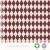 HARLEQUIN COLLEGE - WINE BY ELVELYCKAN DESIGN - Lilly and Mimi Fabric Shop