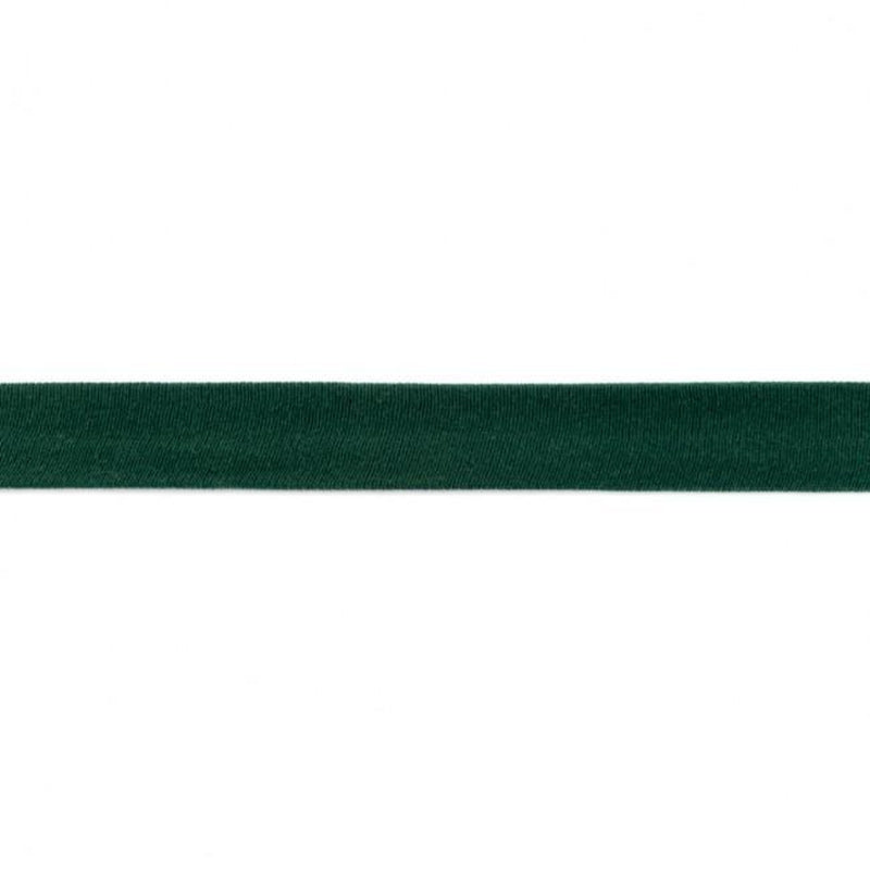 JERSEY BIAS BINDING - BOTTLE GREEN