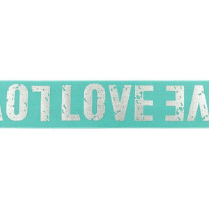 LOVE ELASTIC MINT - 40 MM