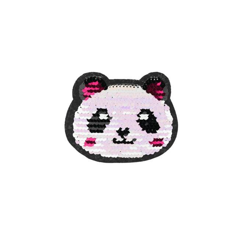 PANDA REVERSIBLE PATCHES - Lilly and Mimi Fabric Shop