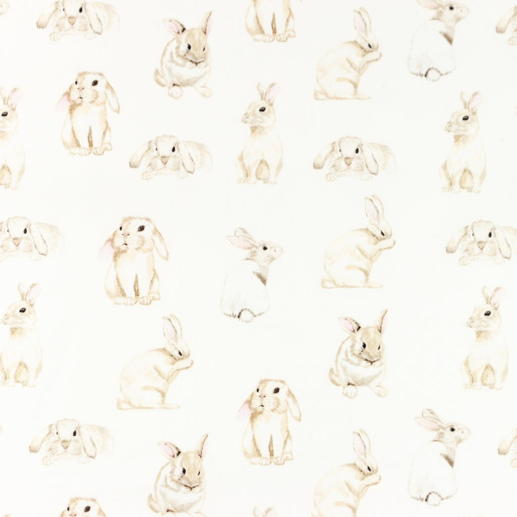 Bunnies Digital Print Cotton Poplin - Lilly and Mimi Fabric Shop
