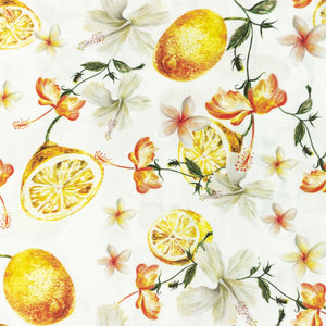 Fruits Digital Print Cotton Poplin - Lilly and Mimi Fabric Shop